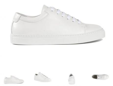 NEW EDITION 3 SNEAKERS BASSES BLANCHES 195,00 €