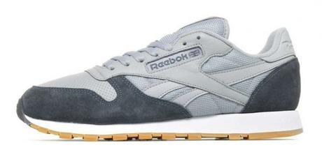 Sneakers grises homme - Reebok Classic Leather Homme