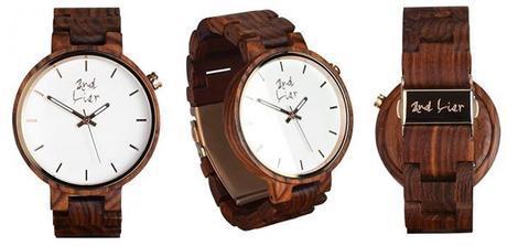 Montre And Liar en bois naturel - top 5 des montres en bois