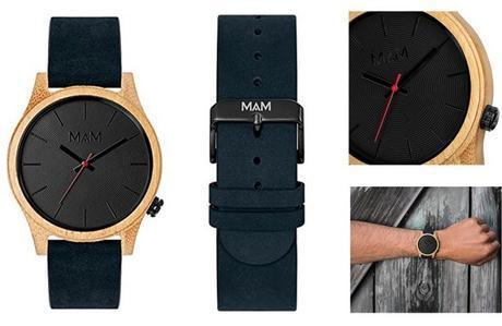 Montre MAM Originals - Bois et Nubuck - top 5 des montres en bois