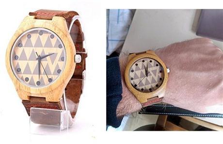 Montre Mercimall - Bois et Cuir - top 5 des montres en bois
