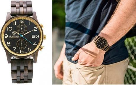 Montre AB AETERNO - L'élégance au naturel - Top 5 des montres en bois