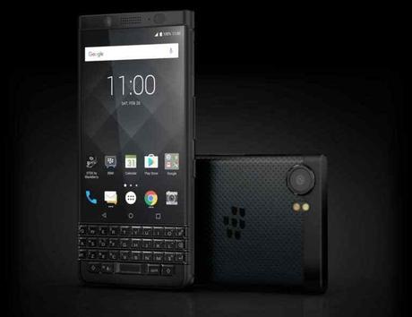 L'ÉLÉGANT Blackberry KEYone Black Edition officiel !