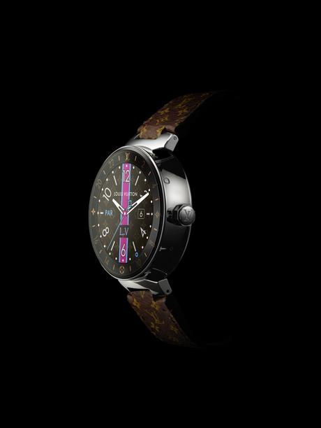 LOUIS VUITTON NOUVELLE MONTRE CONNECTEE TAMBOUR HORIZON