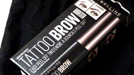 Avis : Tattoo brow Maybelline