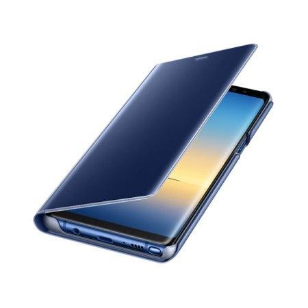 Clear View Stand Cover Officielle Samsung Galaxy Note 8 – Bleu