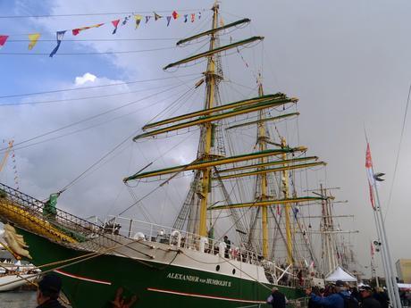 Les grandes voiles du Havre : suite