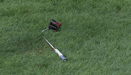 Quand les clubs de golf finissent leurs jours sur le green