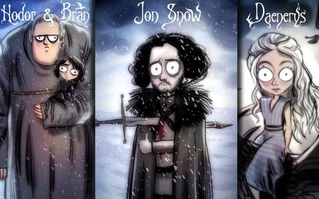 Game of Thrones rencontre Tim Burton