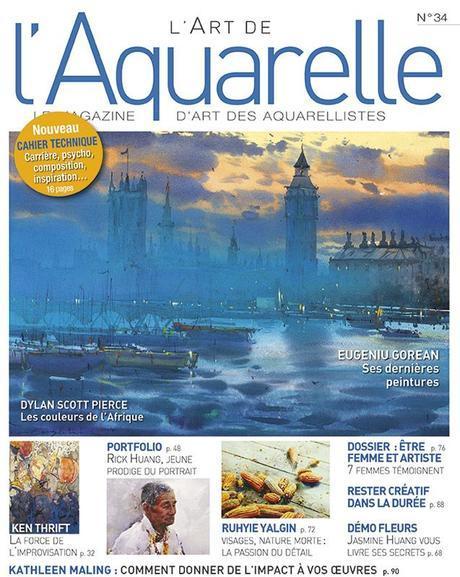 L'Art de l'Aquarelle n° 34