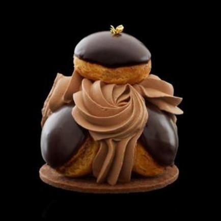 Le Saint Honoré au chocolat de Claire Damon