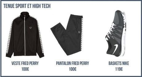 Tenue Sport et High tech - look sport et high tech