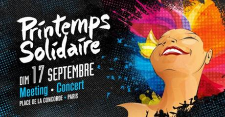 Printemps Solidaire, meeting-concert gratuit Place de La Concorde