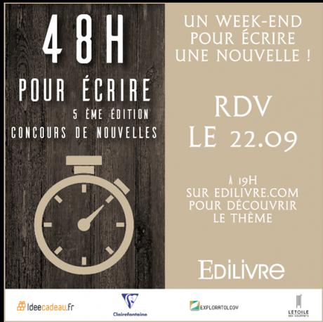 Culture : «48 heures pour écrire», coup d'envoi de la 5ème édition