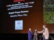 Remise Visa d'Or Humanitaire Angela Ponce Romero