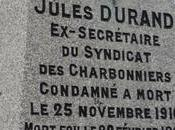 septembre 1910 Arrestation syndicaliste Jules Durand