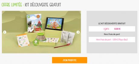 Pandacraft, kit découverte pour enfants, abonnement par défaut pour parents !