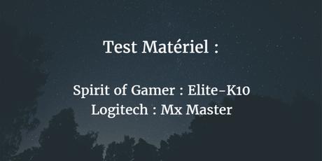 [Test] Spirit of Gamer Elite-K10 & Logitech MX Master