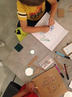 Les ateliers enfants du Drawing Lab