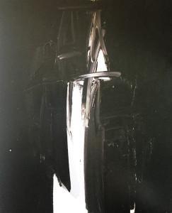 Galerie Berthet-Aittouarès- Galerie Protée –  exposition André MARFAING – « Les noirs de Marfaing »6 21 Septembre 28 OCTOBRE 2017
