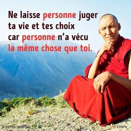 Ne laisse personne juger de ta vie