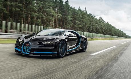 0 à 400 km/h: La Bugatti Chiron s'offre le record du monde