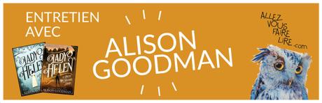 Entretien avec Alison Goodman