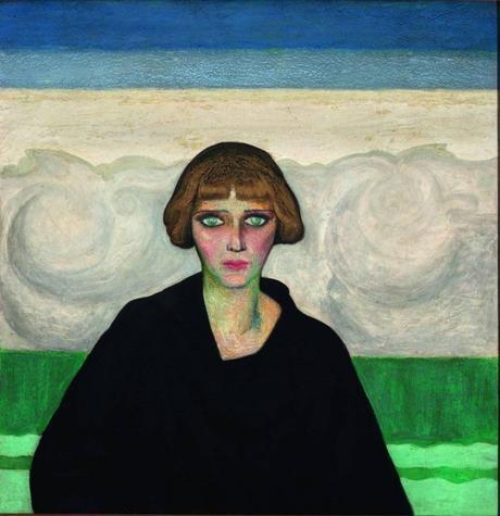 Gerardo Murillo dit Dr ALT - Portrait de Nahiu Olin, 1922