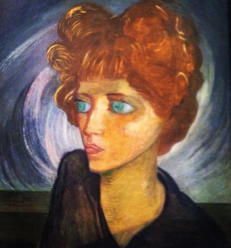 Gerardo Murillo dit Dr ALT - Portrait de Nahiu Olin, 1929
