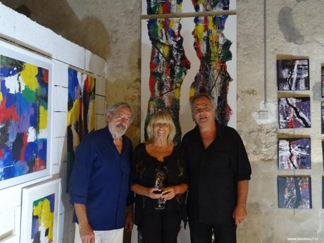montpellier rencontre avec jijey artiste peintre septembre 2017 paperblog. Black Bedroom Furniture Sets. Home Design Ideas