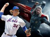 sportifs sont liés d'une manière autre super-héros