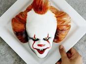 gâteau l'effigie Grippe-Sou clown