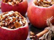 Pommes royal gala farcies fruits secs