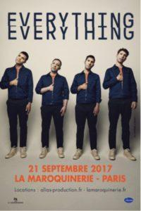 Live Report – Everything Everything à la Maroquinerie le 21 septembre 2017