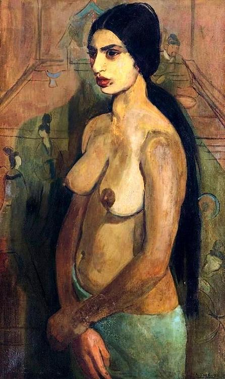 Autoportrait en Tahiienne, 1934