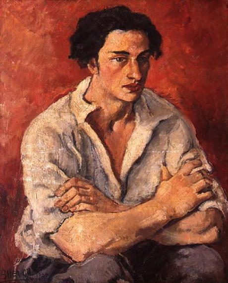 Portrait d'un leune homme (Boris Taslitzky), 1930