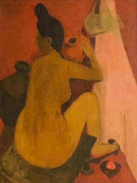 Femme au bain, 1940