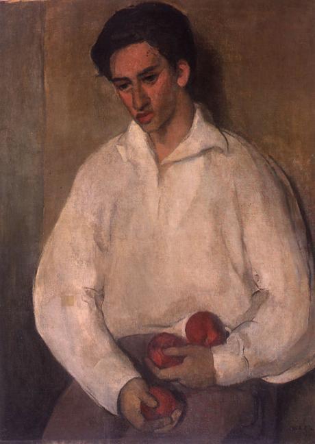 Jeune homme avec des pommes (Boris Taslitzky), 1932