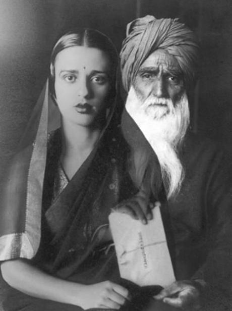Amrita et son père