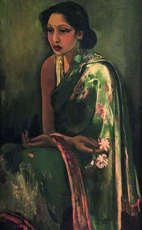 Sumair (cousine d'Amrita Sher-Gil), 1936