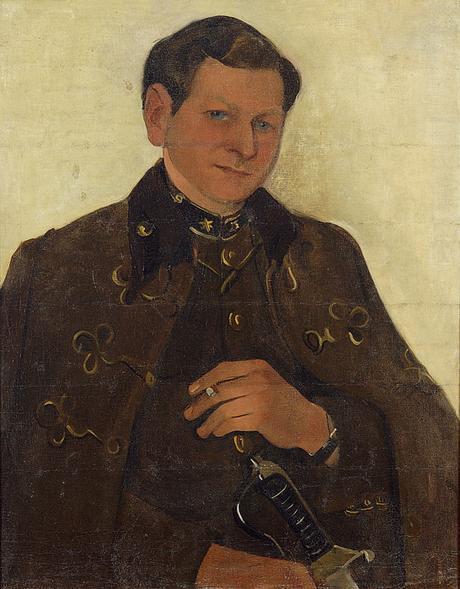Amrita Sher-Gil - Portrait de Victor Egan, 1938