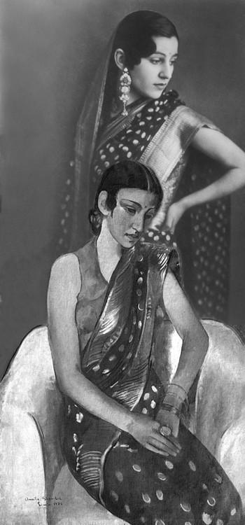 Amrita en sari