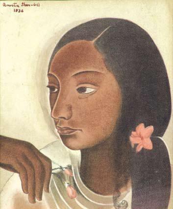 Jeune fille, 1936