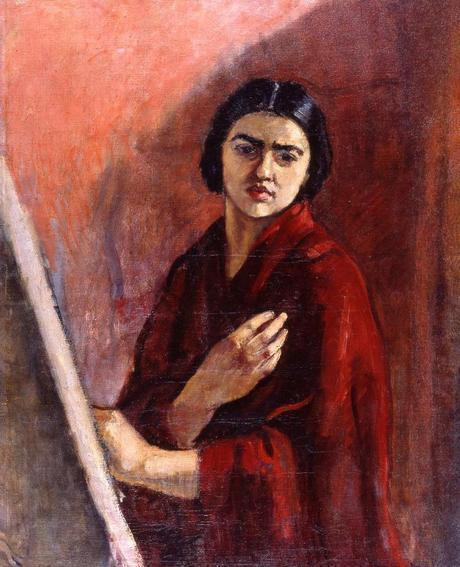 Autoportrait au chevalet, 1930