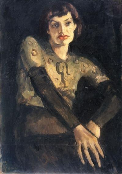 Amrita Sher-Gil - Marie Louise Chassany, 1932