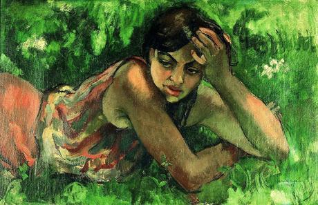 Hungarian gypsy girl, 1932