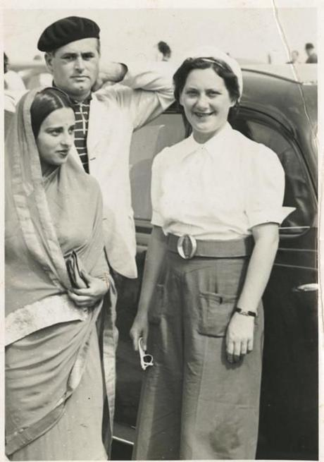 Amrita Sher-Gil avec sa mère