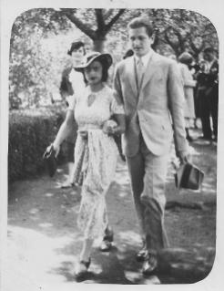 Amrita Sher-Gil et Victor son mari