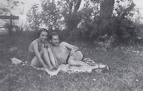 Amrita Sher-Gil et son mari Victor Egan