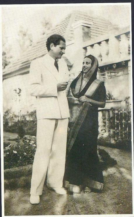 Amrita Sher-Gil et son mari